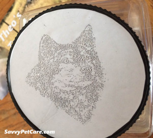 DIY Pet Treat Jar lid