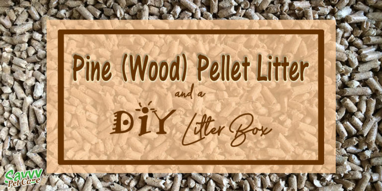 Pine Pellet Litter and a DIY Litter Box