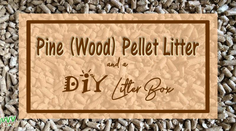 Pine Pellet Litter and a DIY Litter Box